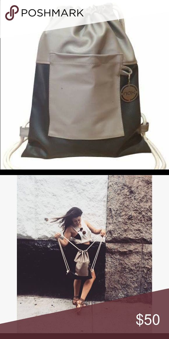 SALE!!! New! Drawstring Bag / Faux leather Nox Bags are made out of Faux leather and manufacturer in Lima/Peru. They are practical, comfortable, and stylish. Bags Backpacks