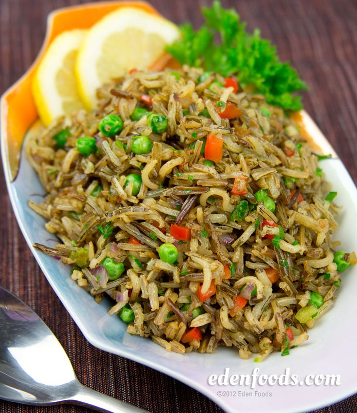 ... Rice on Pinterest | White rice, Garlic fried rice and Wild rice pilaf
