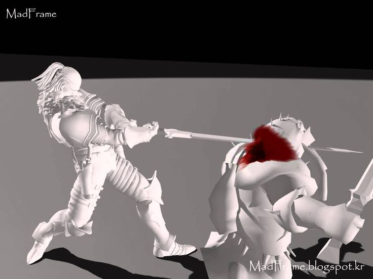 "3D Animator ""Madframe"" Player Character Animation Portfolio"