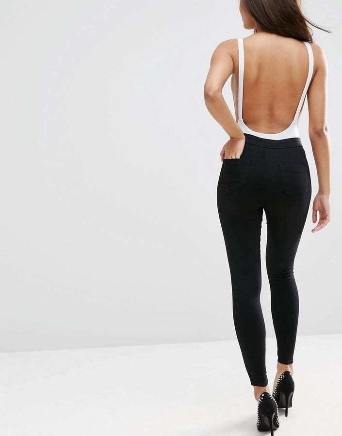 Kuvahaun tulos haulle black denim leggings