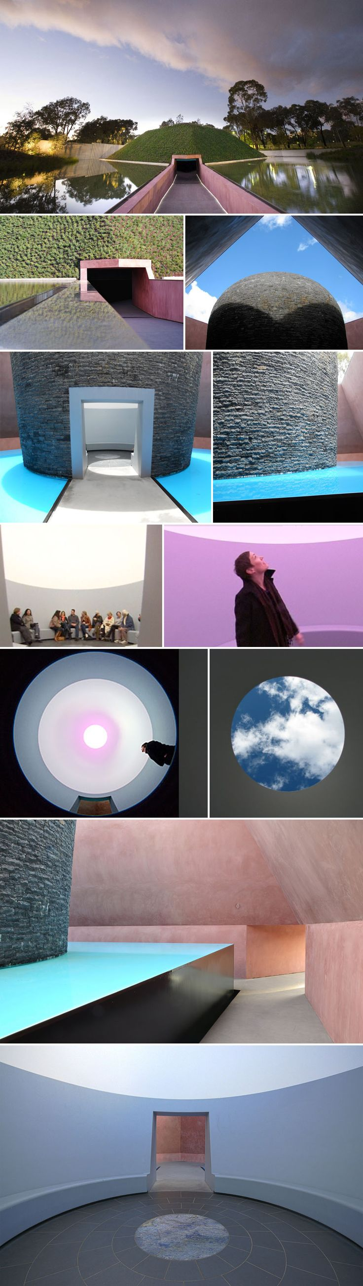 Within, without: James Turrell at Nat Gallery, Canberra. My first encounter w this artwork was on a cold evening, totally unexpected, and so fascinating