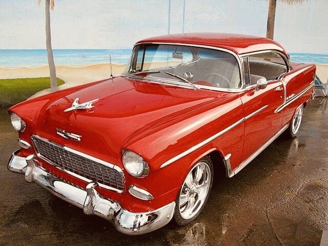 1955 Chevy Bel Air Chevy Classic Cars Chevy Bel Air