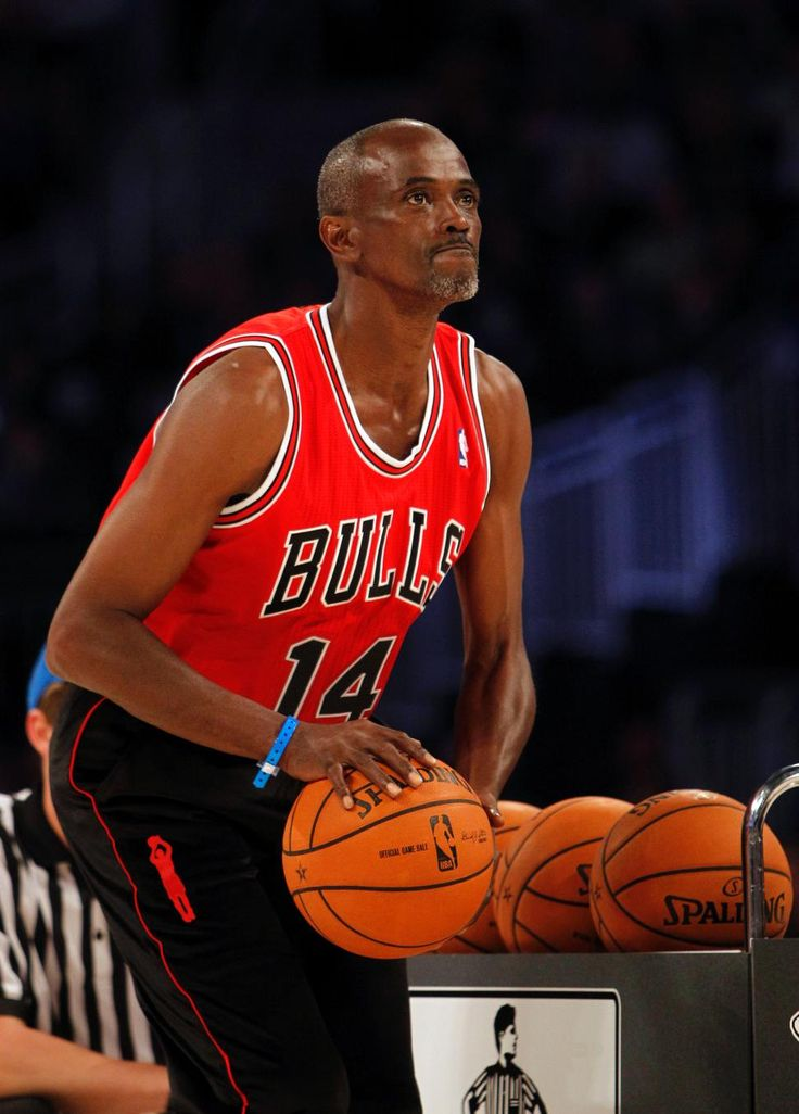 Craig Hodges aims during the 2012 NBA All-Star basketball three-point contest.