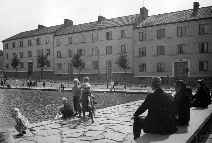 Majorna, 1930s. Gothenburg