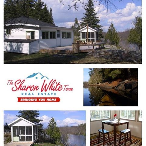 Coming Soon!!! A beautiful 2 bedroom cottage, hardwood floors, with river view on 1.3 acres. #realestate #bancroft #cottagecountry #ontario #sharonwhiterealestate #house #residential #realtor #hastings #lake #waterfront #rural #comingsoon #beautifulhomes