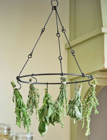 Herb drying rack. I would like to try and make this.