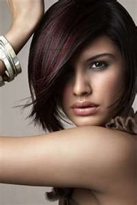 dark brown hair with burgandy tint - Google Search