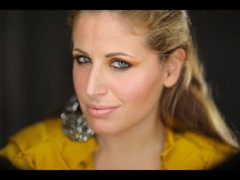 ▶ Makeup tutorial trucco Orange Night Out - YouTube
