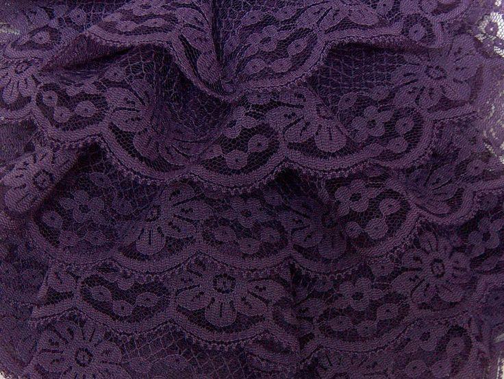 Dantelle Mesh Purple Scarf yarn at Yarn Paradise