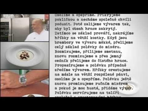 Zdeněk Pohlreich Bramborová polévka - YouTube