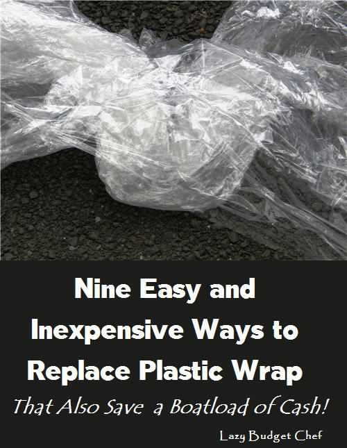Click the photo to read this list of 9 easy tips and hacks to save money by replacing plastic cling film wrap in the kitchen!