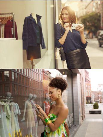 Révélez l'accro du shopping qui est en vous avec votre #Galaxy ! #Samsung #ShoppingAddict #Style #GalaxyNote3