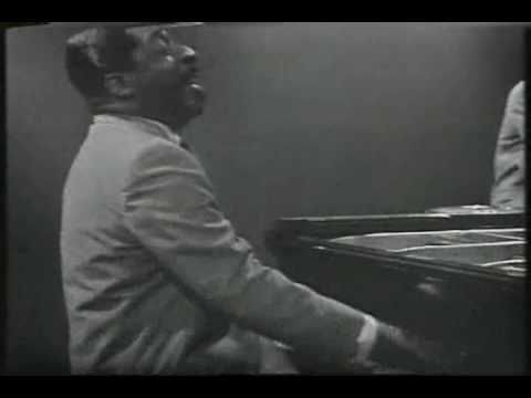 "Errol Garner plays ""One Note Samba"" with his jazz trio."