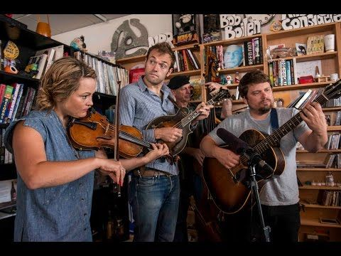 ▶ Nickel Creek: NPR Music Tiny Desk Concert - Have loved these guys for so many years...but this performance might be one of my all time faves.