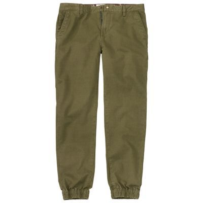 Timberland Men's Lovell Lake Slim Fit Tapered Chino Pant Olive Green