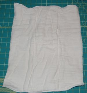 Sew a prefold diaper the real way! (I think this is the website I used for the prefolds I already made- just pinning for conenience)