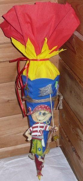 Geschwister-Schultüte von Deko-Huette auf DaWanda.com