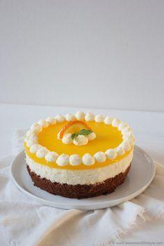 Chocolate Orange Cake // Schoko Topfen Orangen Torte // Sweets and Lifestyle