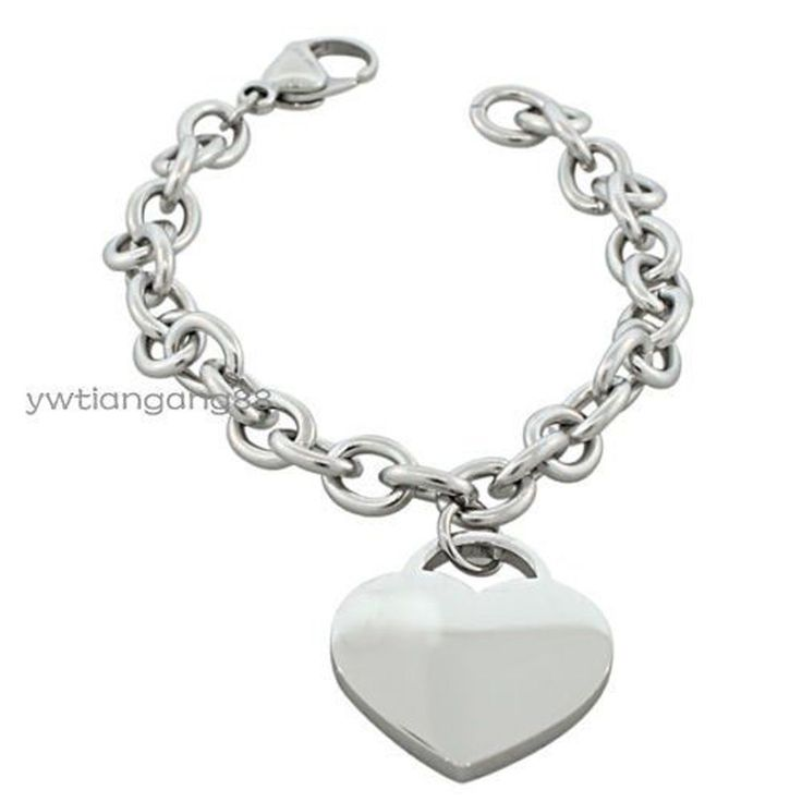 Hot Selling Silver O Chain Bangle Stainless Steel Ladies Womens Jewelry Ol Style