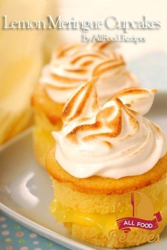 Lemon Meringue Cupcakes Lemon meringue pie is such a classic dessert ...