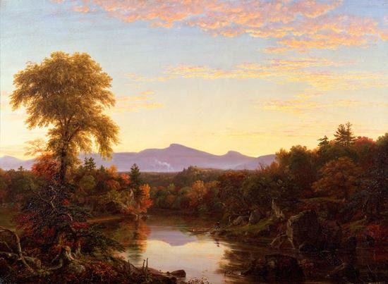 Thomas Cole (American, 1801 - 1848) Catskill Creek, N.Y., 1845, New-York Historical Society