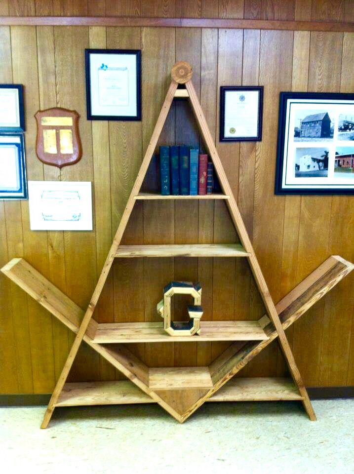 #Masonic bookshelf