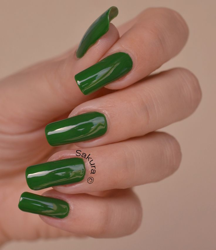 Bright Orange Emerald Green With Dash Of Hearts | Manicures | Pinterest