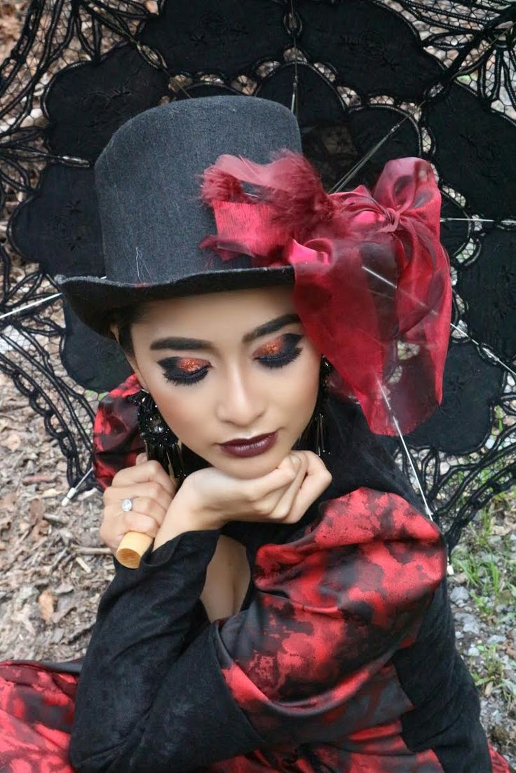Once upon a midnight  Makeup by @nnina.e  Victorian  Style