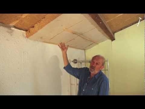 Isolation écologique sous-toiture laine de bois ISONAT