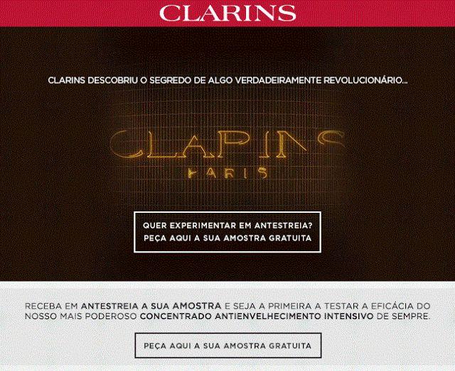 Amostras e Passatempos: AMOSTRAS de Double Serum by Clarins