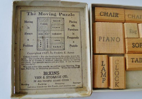 Bekins Van & Storage Co. The Moving Puzzle by PaperCreationsbyDeb, $30.00