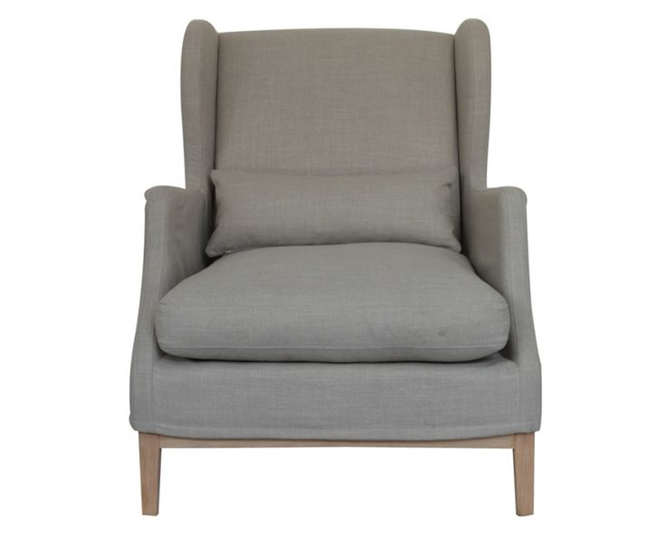 Oscar Wingback Chair 800L 890W 990H Loose cover