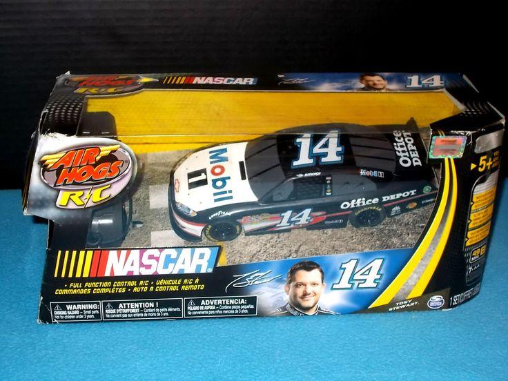 AIR HOGS - NASCAR - Radio Control 1:24th Replica - Tony Stewart #14 - Mobile 1 #Spinmaster