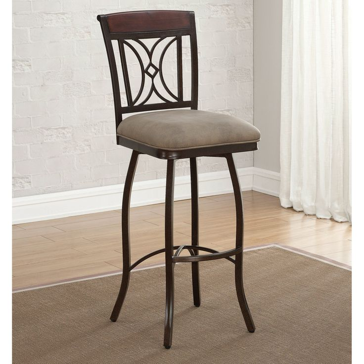 American Heritage Eden Extra Tall Bar Stool - When you have to sit up extra high & Best 25+ Extra tall bar stools ideas on Pinterest | Bar table and ... islam-shia.org