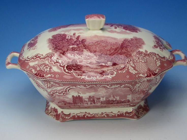 Johnson Brothers Old Britain Castles Pink/Red Transferware - Soup Tureen & 56 best Johnson Bros Old Castles images on Pinterest | Johnson bros ...