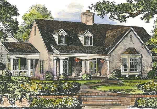 Peachtree Cottage House Plan House Plans Pinterest