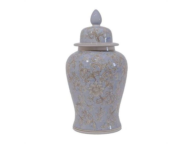 Van Roon Living jar andaman 32x23x61 cm blue/cream