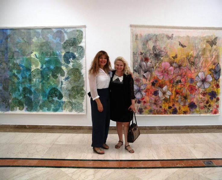 """Saatchi Art Artist Daniela Carletti; Photography, """"the day before the opening of the exhibition at Sharjah University"""" #art"""