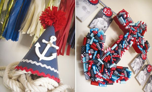 A Nautical First Birthday Party // Hostess with the Mostess®