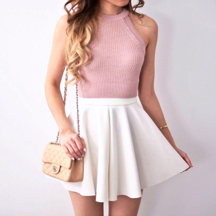 Best 25+ Cute skirt outfits ideas on Pinterest | School skirt outfits Skirt outfits and Skater ...