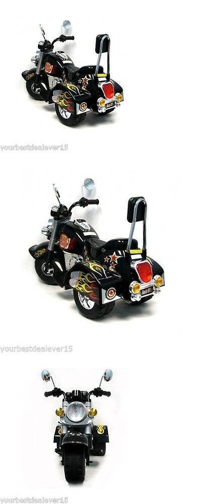 Other Outdoor Toys Structures 11742: Power Wheels Harley Style Motorcycle Battery Powered Ride On Toy Kid -> BUY IT NOW ONLY: $79.96 on eBay!