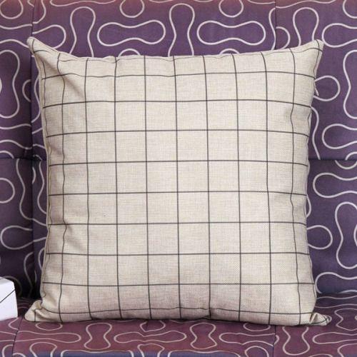 grid pillowcase  $3.27 aesthetic grid home decor interior ...