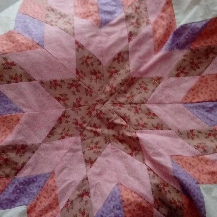 Linda manta de bebe con lonely star quilting, que puede convertirse en cualquier quilt. Baby girl blanket lonely star, but it might be any kind of quilt