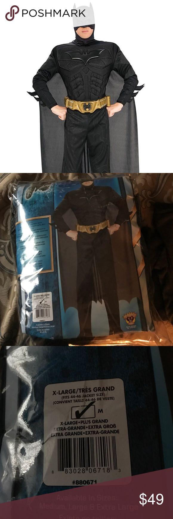 New x large batman costume adult new x large batman costume
