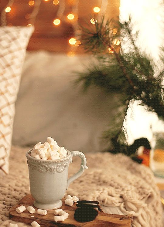 kitchen ghosts / christmas drink : Hot chocolate