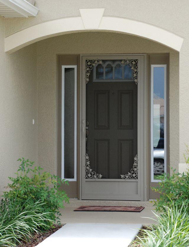 Front Doors With Storm Door best 25+ aluminum screen doors ideas on pinterest | mesh screen