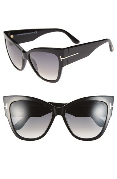Free shipping and returns on Tom Ford 'Anoushka' 57mm Gradient Sunglasses at Nordstrom.com. The old-school silhouette of classic sunglasses gets a sophisticated update with smoky gradient lenses and signature metal T insets at the temples.