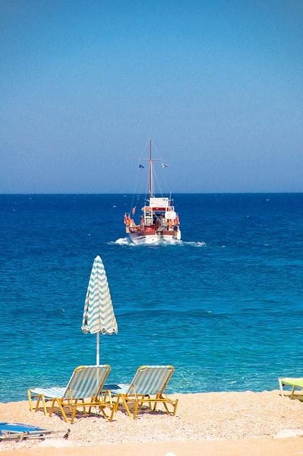 Apella Beach, Karpathos 2009 by kruijffjes, via Flickr
