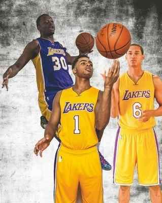 LA Lakers' Byron Scott believes D'Angelo Russell, Julius Randle and Jordan Clarkson could become All-Stars