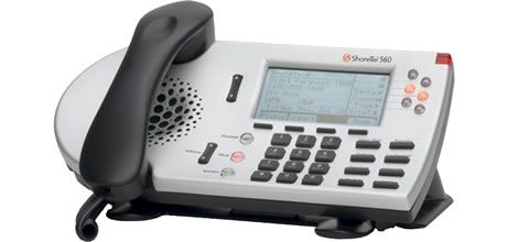 ShoreTel IP Phone 560g  The IP 560g builds on the IP 230g feature set with 6 line appearances and color-lit line buttons that provide instant call recognition and identification.The phone of choice for telephony-intensive professionals and executive assistants who require Gigabit Ethernet connectivity at the desktop for data-intensive functions.